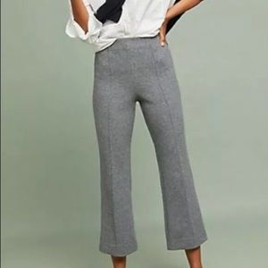 Anthropologie Cartonnier Cropped Flare Pants SZ M